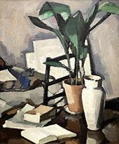Aspidistra 1927 By Samuel John Peploe