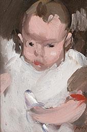 Baby Willy 1906 By Samuel John Peploe