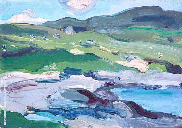 Barra 2 By Samuel John Peploe