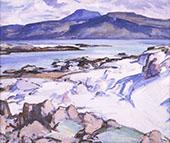 Ben More from Iona 1924 By Samuel John Peploe