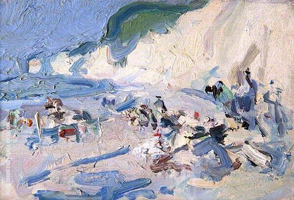 Berneval 1904 By Samuel John Peploe