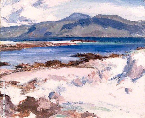 Blue Sea Iona 1927 By Samuel John Peploe