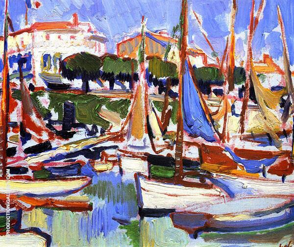 Boat at Royan 2 1910 By Samuel John Peploe