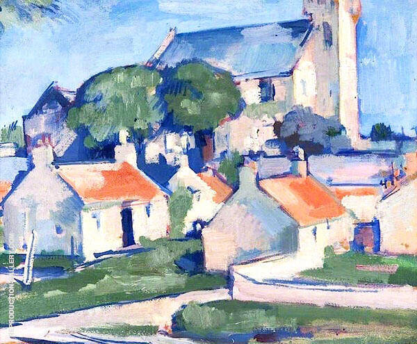Ceres 1920 Painting By Samuel John Peploe - Reproduction Gallery
