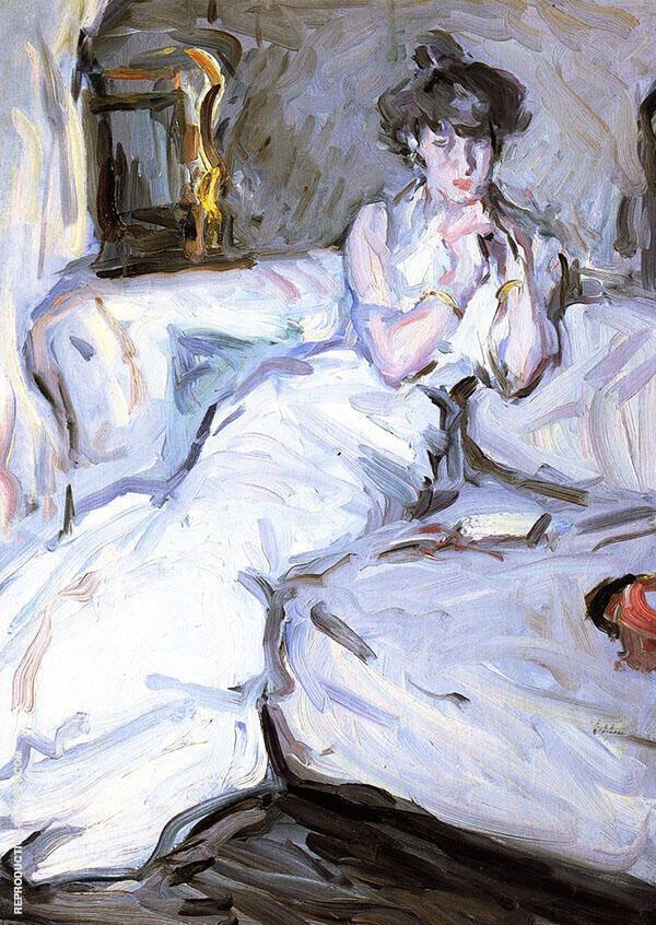 Girl in White 1907 Painting By Samuel John Peploe - Reproduction Gallery
