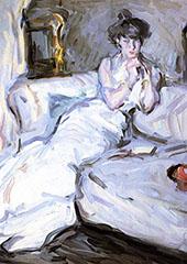 Girl in White 1907 By Samuel John Peploe
