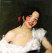Gypsy c1897 By Samuel John Peploe