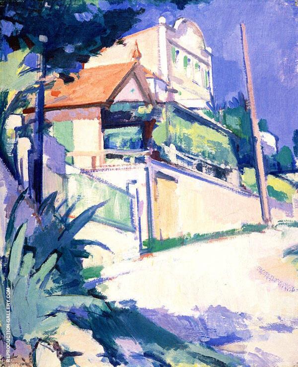 The Aloe Tree c1924 Painting By Samuel John Peploe - Reproduction Gallery
