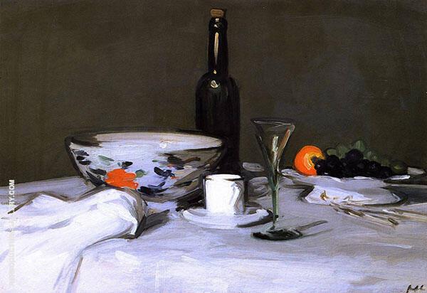The Black Bottle 1905 Painting By Samuel John Peploe