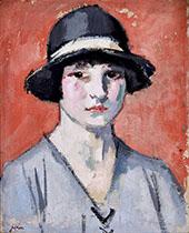 The Black Hat By Samuel John Peploe