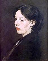 The Black Shawl 1904 By Samuel John Peploe