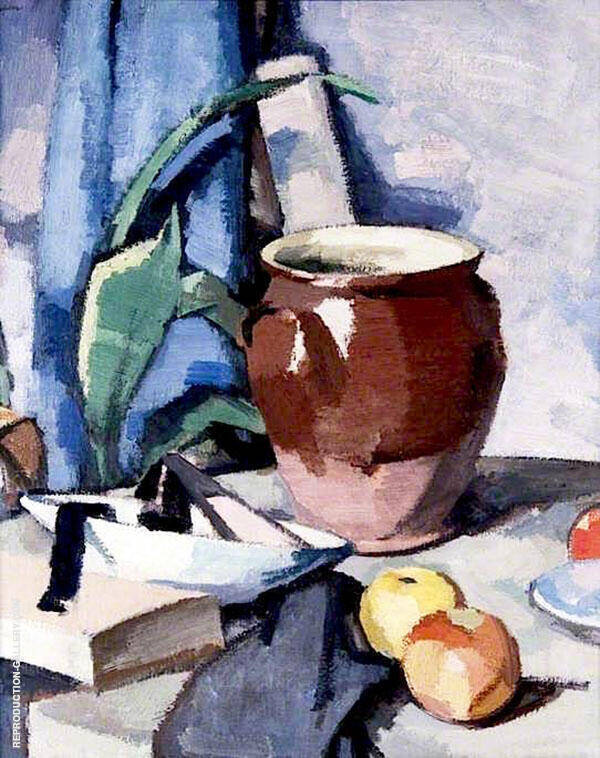 The Brown Crock 1925 Painting By Samuel John Peploe - Reproduction Gallery