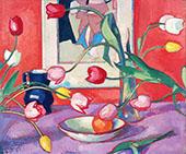 Tulips By Samuel John Peploe