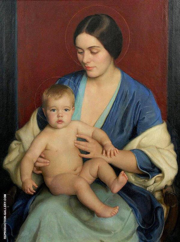 A Modern Madonna By William M Paxton