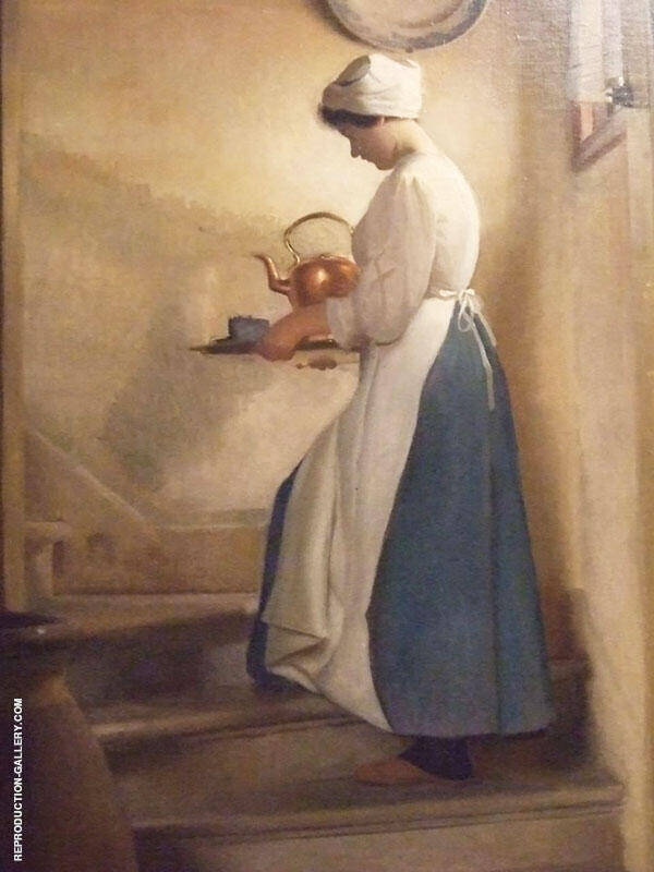 Dejeuner Venice Painting By William M Paxton - Reproduction Gallery