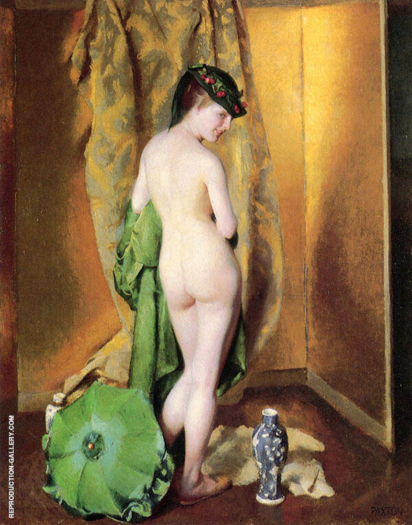 Fantasy Interlude Painting By William M Paxton - Reproduction Gallery
