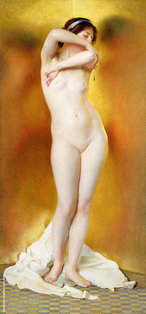 Glow of Gold Gleam of Pearl By William M Paxton