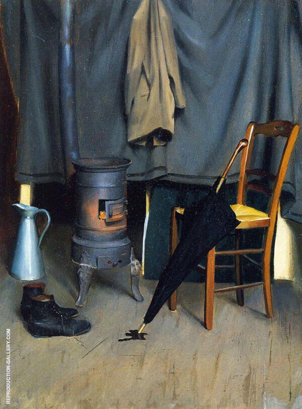 Interior of The Paris Studio By William M Paxton