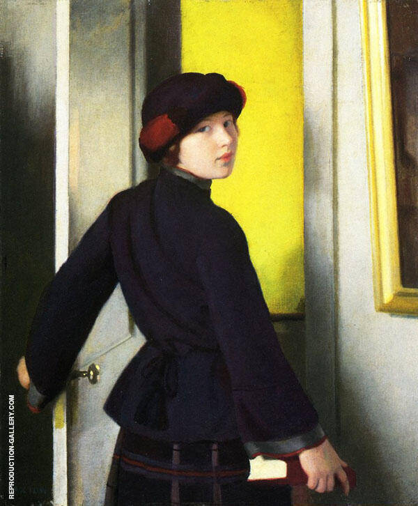 Leaving The Studio By William M Paxton