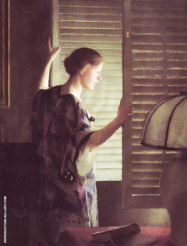 Morning Light By William M Paxton
