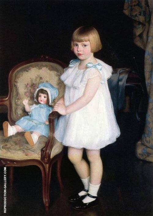 Portrait of Eleanor Anne Schrafft By William M Paxton