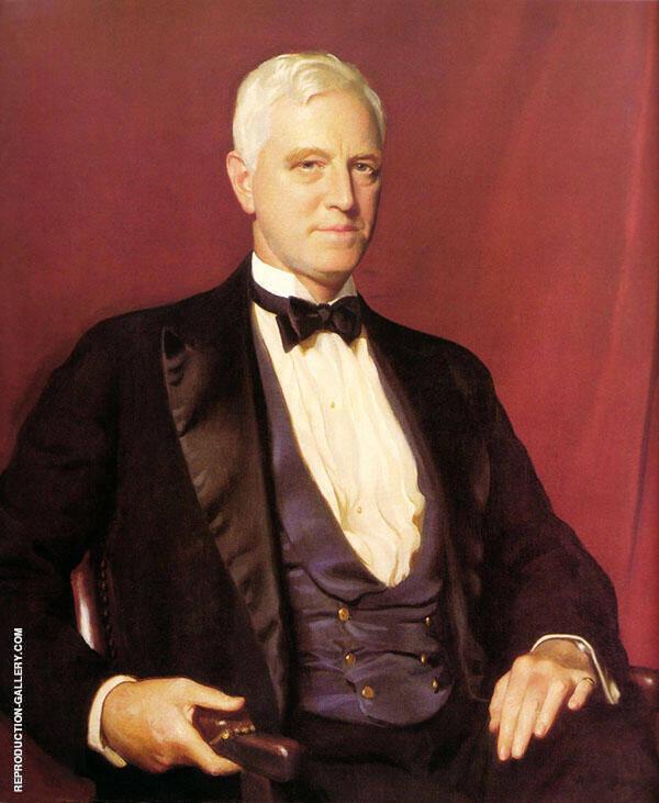 Portrait of Mr Charles Sinkler By William M Paxton