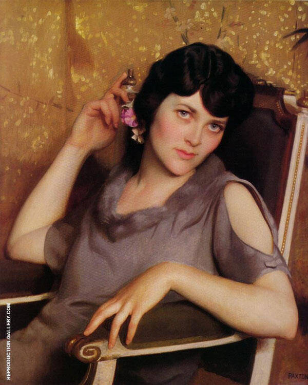 Pretty Girl By William M Paxton