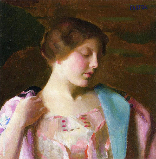 Study for Bellissima By William M Paxton