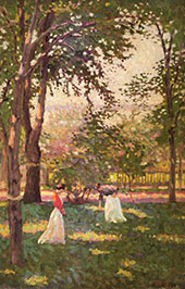The Croquet Players By William M Paxton