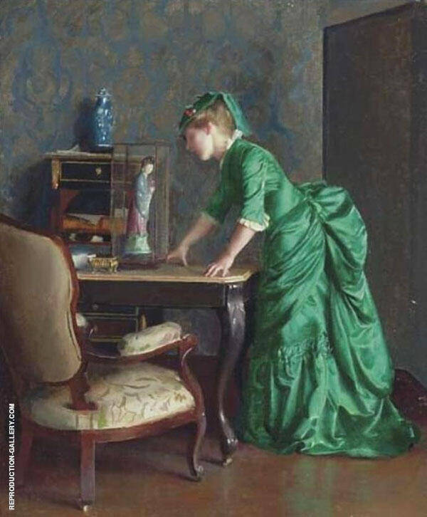 The Green Dress By William M Paxton