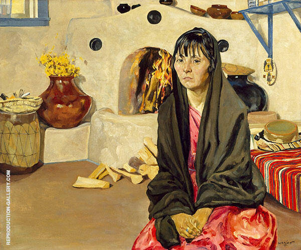 Anna 1920 Painting By Walter Ufer - Reproduction Gallery