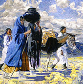 Going East 1917 By Walter Ufer