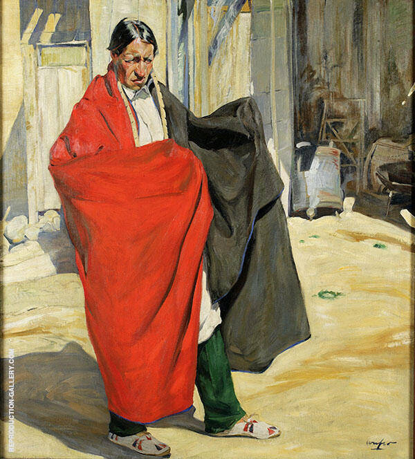 Jim 1918 Painting By Walter Ufer - Reproduction Gallery
