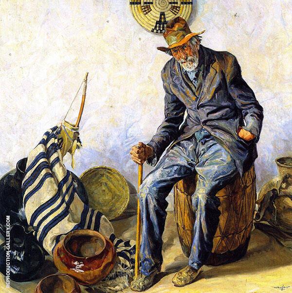 Manuel La Jeunesse 1922 By Walter Ufer