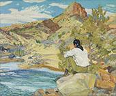 The Rio Grande By Walter Ufer