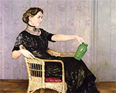 Portrait of Mary 1913 By Walter Ufer