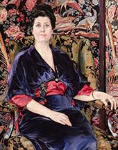 Portrait of Mrs Walter Wardrop By Walter Ufer