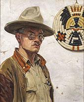 Self Portrait 1920 By Walter Ufer