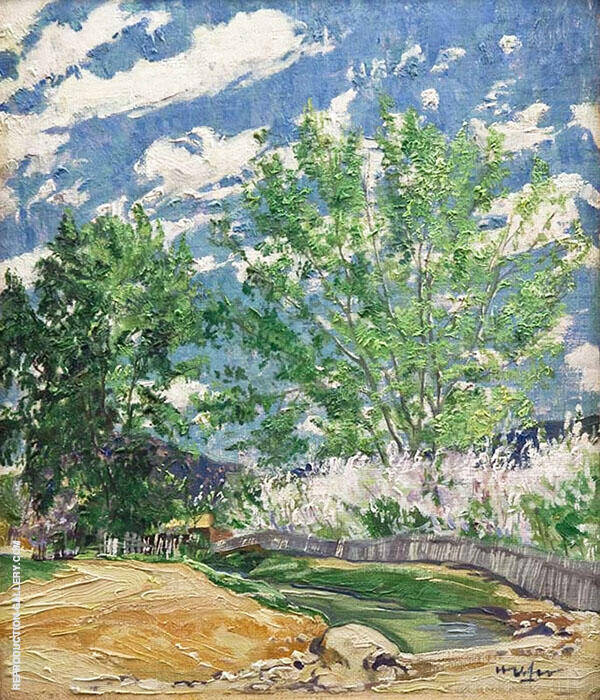 Spring Painting By Walter Ufer - Reproduction Gallery