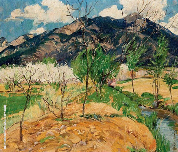 Spring Morning 1922 Painting By Walter Ufer - Reproduction Gallery