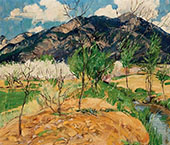Spring Morning 1922 By Walter Ufer
