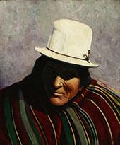Taos Medicine Man By Walter Ufer