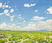 The American Desert By Walter Ufer