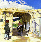 The Gateway 1918 By Walter Ufer