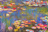 Water Lilies 1916 3 By Claude Monet