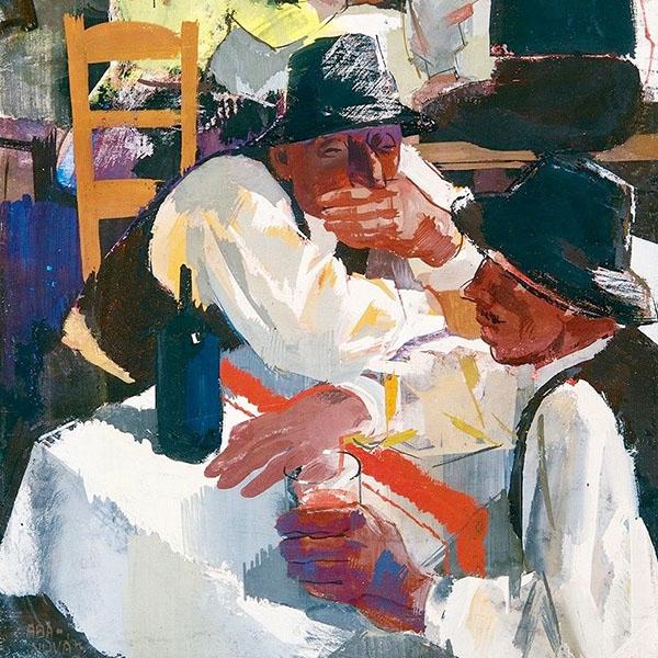 Oil Painting Reproductions of Vilmos aba-Novak