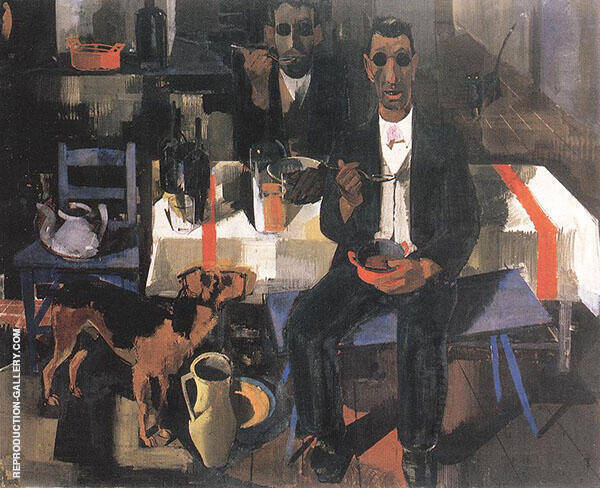 Blind Musicians 1932 Painting By Vilmos aba-Novak - Reproduction Gallery
