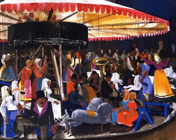 Carousel By Vilmos aba-Novak