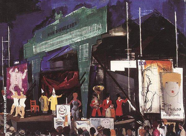Circus 1930 By Vilmos aba-Novak