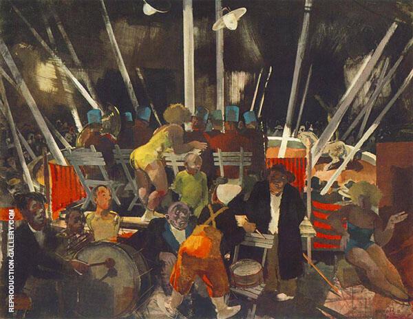 Circus 1935 By Vilmos aba-Novak